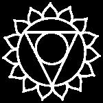 white chakra icon manipara