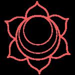 pink chakra icon swadhithana