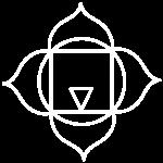 white chakra icon muladhara