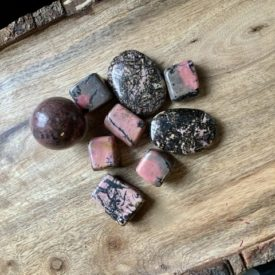 Rhodonite Polished Stones
