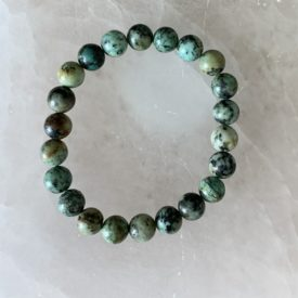 African Turquoise Bead Bracelet