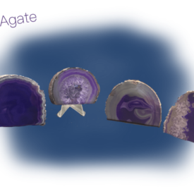 Purple Agate End
