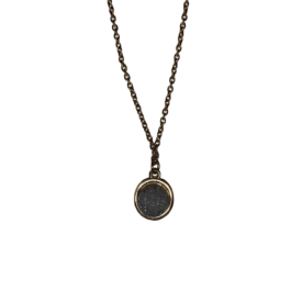KA Druzy Necklace – Stormy