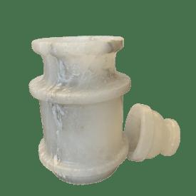 White Salt Jar