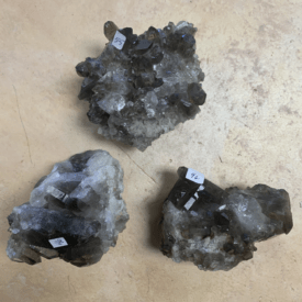 Smokey Quartz Clusters
