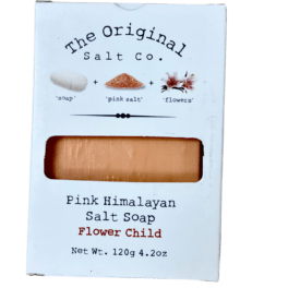 Flower Salt Soap
