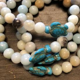 Agate Turtle Bracelet