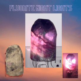 Fluorite Night Light