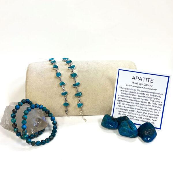 apatite bracelets and stones