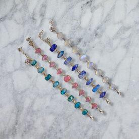 Moonstone in 925 Silver Bracelets