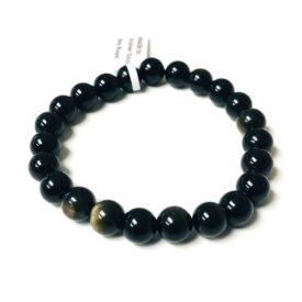 Gold Sheen Obsidian Bracelet
