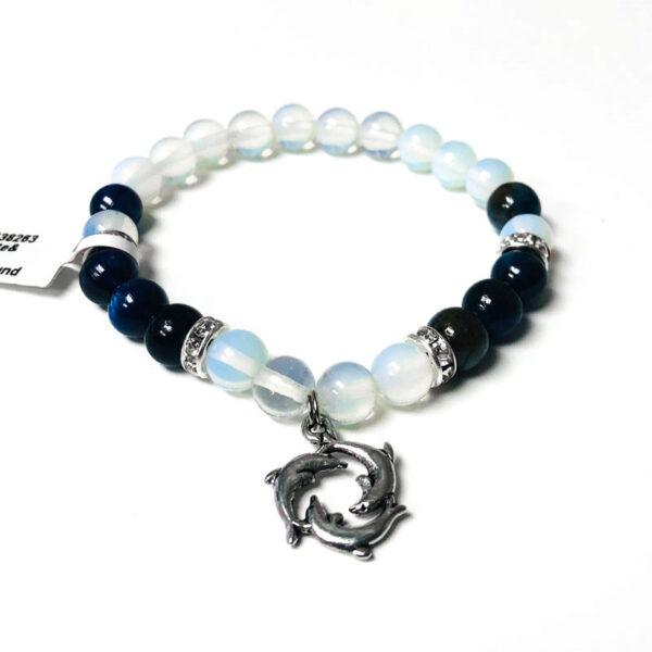 kyanite and opalite bracelet