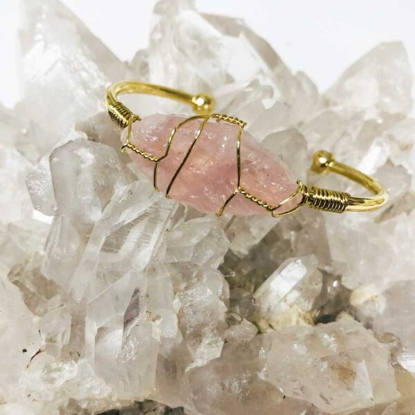 rose quartz bracelet c