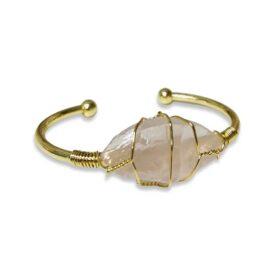 Rose Quartz Crystal Bracelet